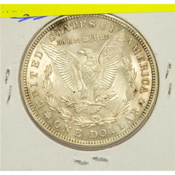 1921 U.S. SILVER MORGAN DOLLAR, EF