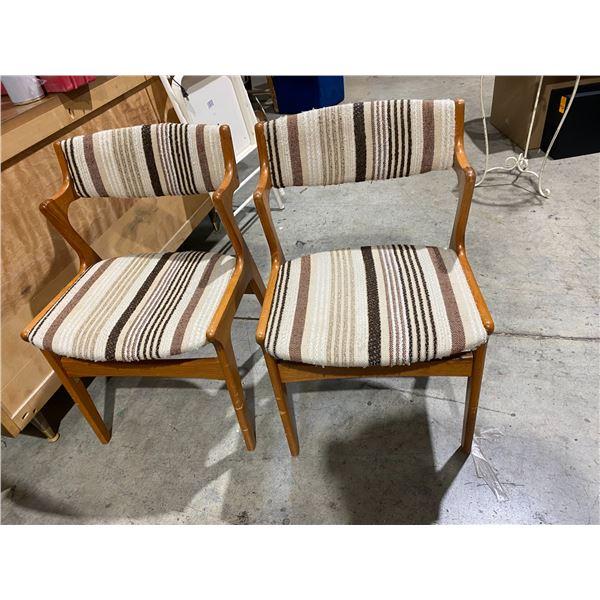 Teak chairs Nova Mobler made in Denmark