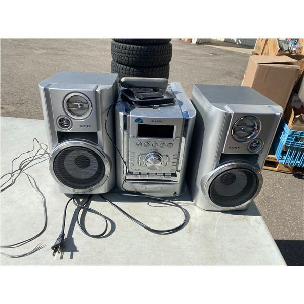 Bookshelf stereo Sony