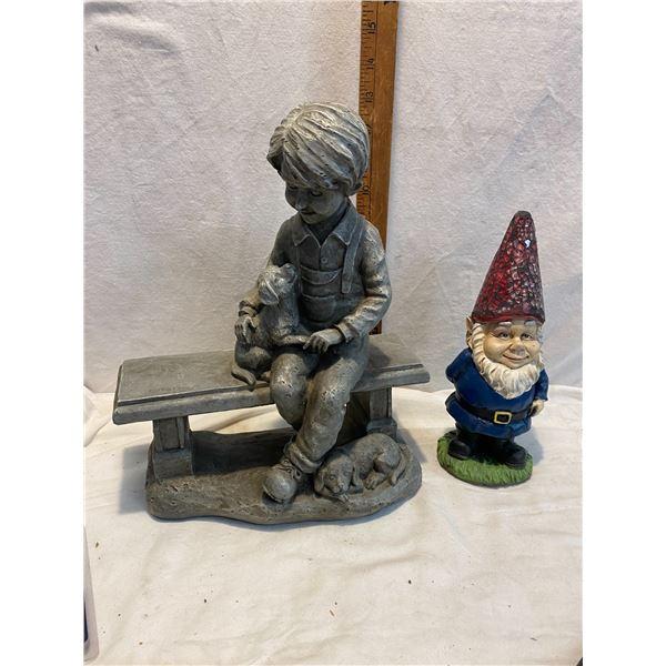Gnome and decor
