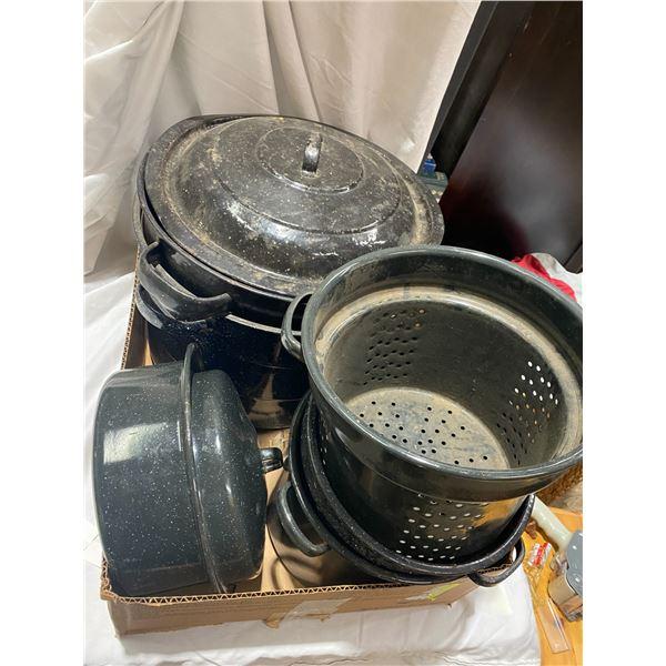 Canning pots etc