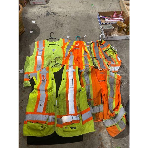 5 safety vests
