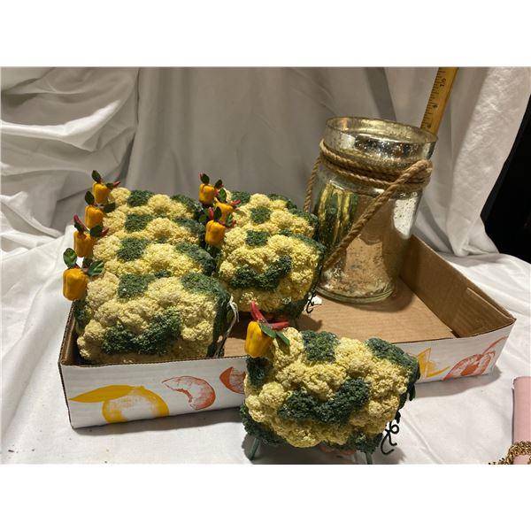 Vegetable decor