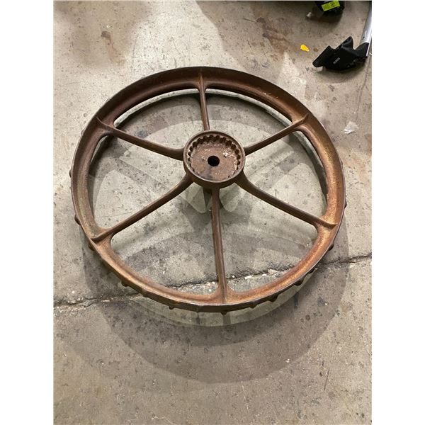 Metal wheel 34 inches