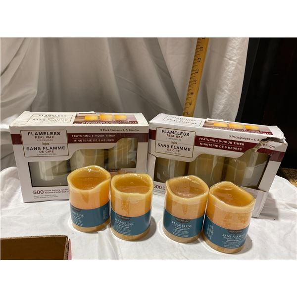 New flame less candles