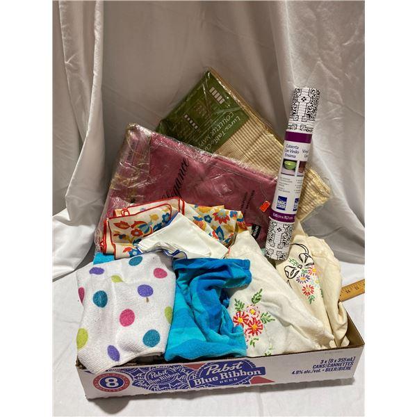 Table cloths, linens items