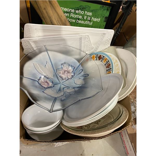Platters and plates some Corelle