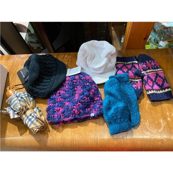 Hats some Eddie Bauer and other etc
