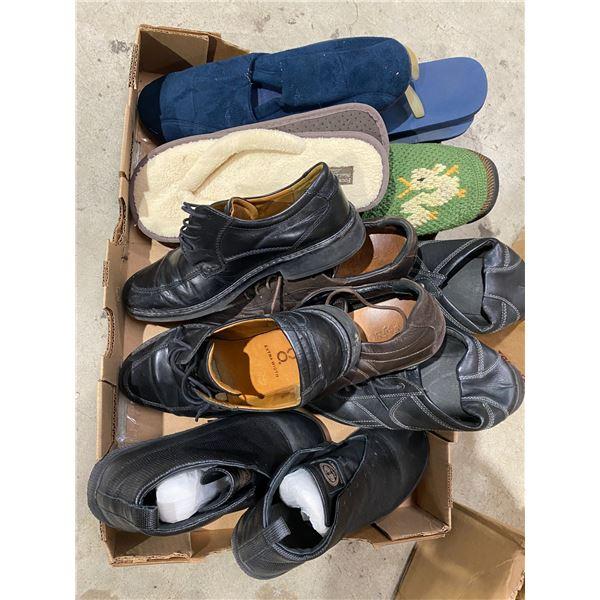 Assorted footwear
