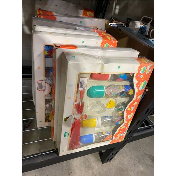 9 boxes baby bottles new