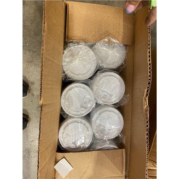 Case Dixie plastic lids