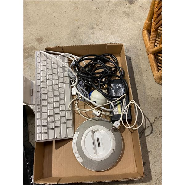 Computer cord and ape keyboard etc