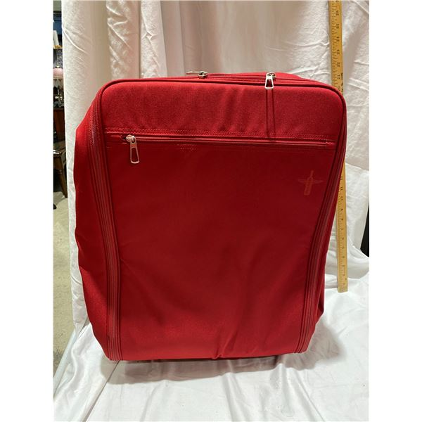 New red wine luggage