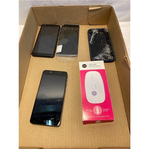Untested assorted phones etc