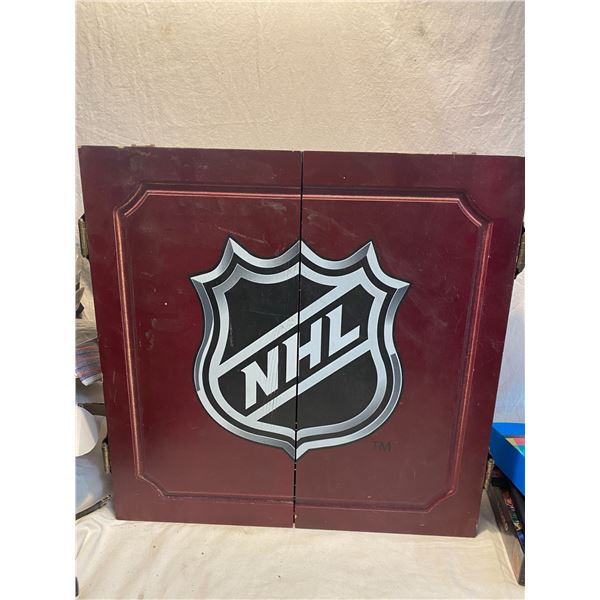 NHL dart board