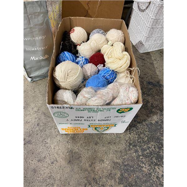 Box wool