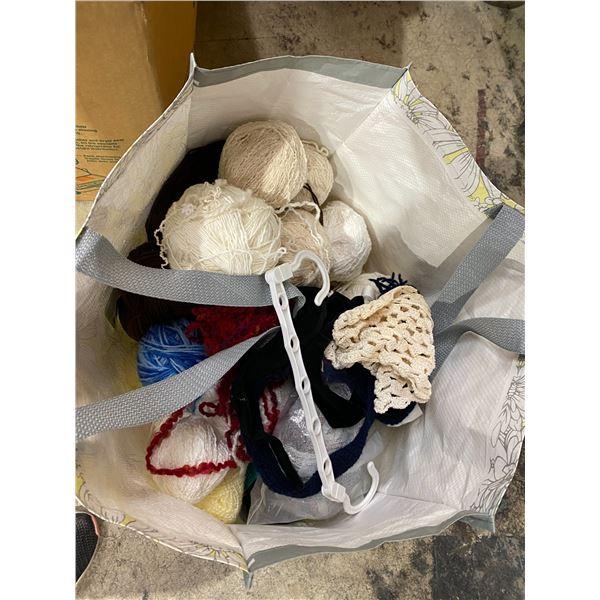 Bag assorted wool