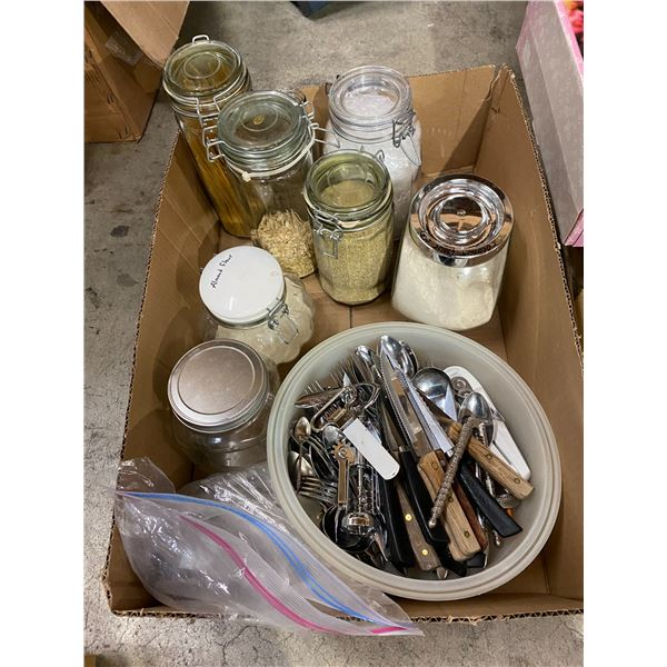 Canisters and other kitchen related