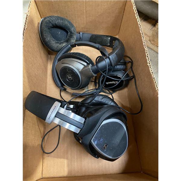 3 pair headphones