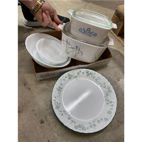 Corningware and corelle