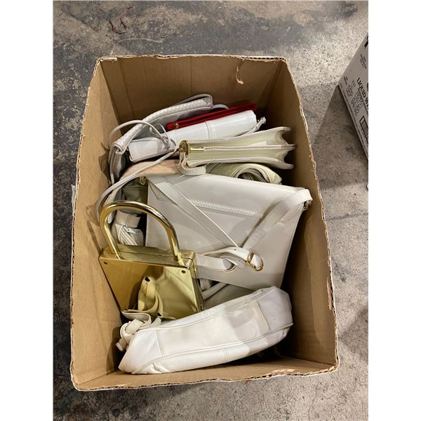 Assorted hand bags
