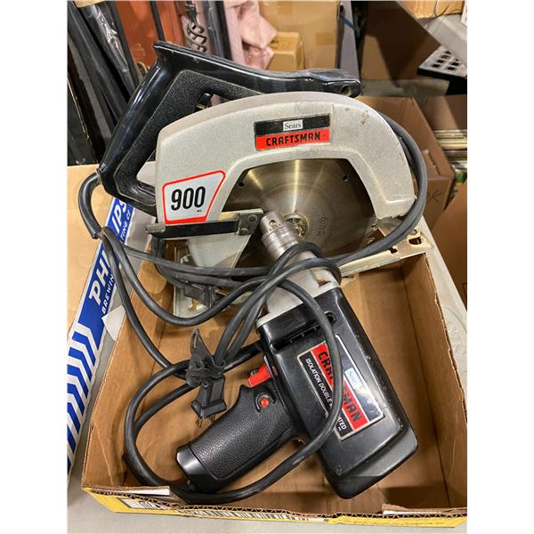 Skil saw and drill