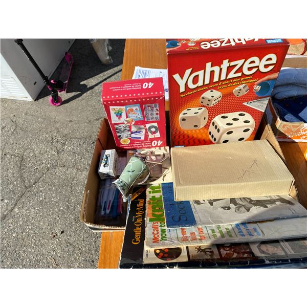 Yahtzee and other items