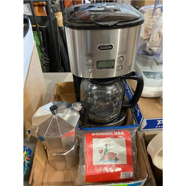 Coffee pot and other
