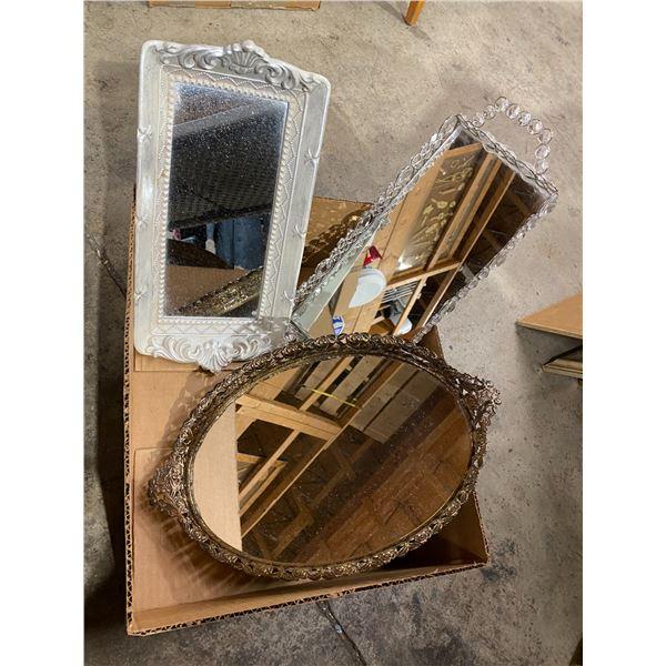 Vanity trays