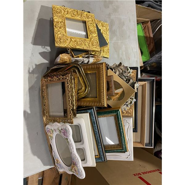 Large lot assorted frames