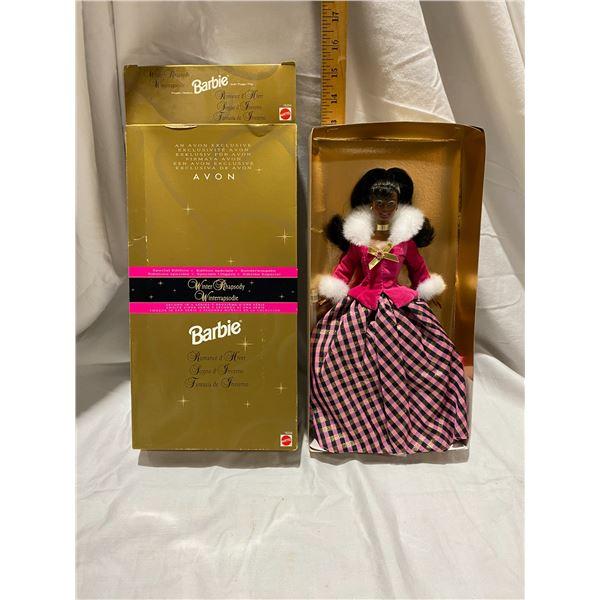 Avon winter Rhapsody Barbie