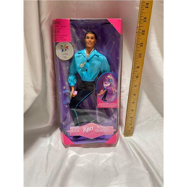 Ken Olympic skater doll Mattel