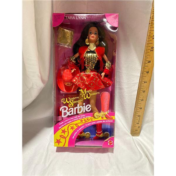 Western Stampin Magie Western Barbie