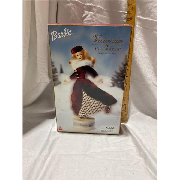 Victorian ice skater Barbie