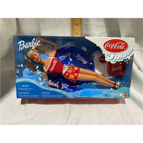 Coca Cola Barbie splash