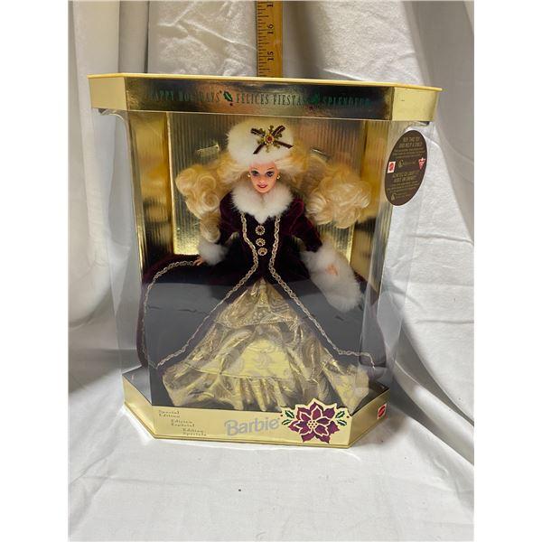 Happy Holidays Special edition Barbie