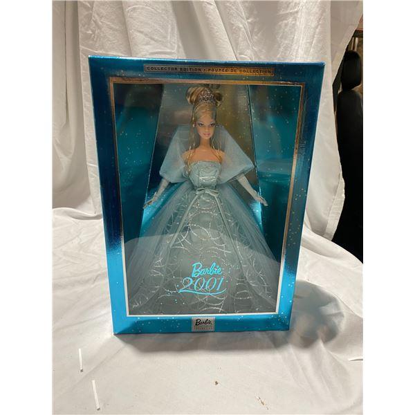 2001 Holiday Barbie