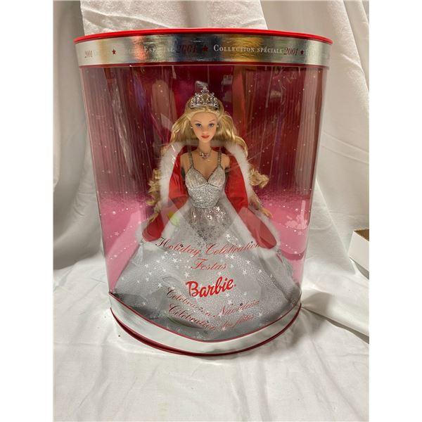 Holiday Celebration Barbie 2001