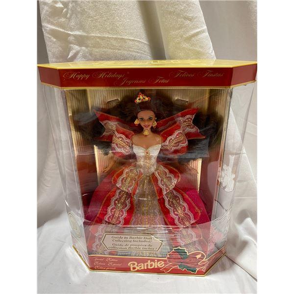 Happy Holidays 10th anniversary Barbie