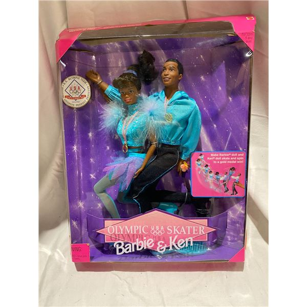 Olympic USA Skater Barbie and Ken