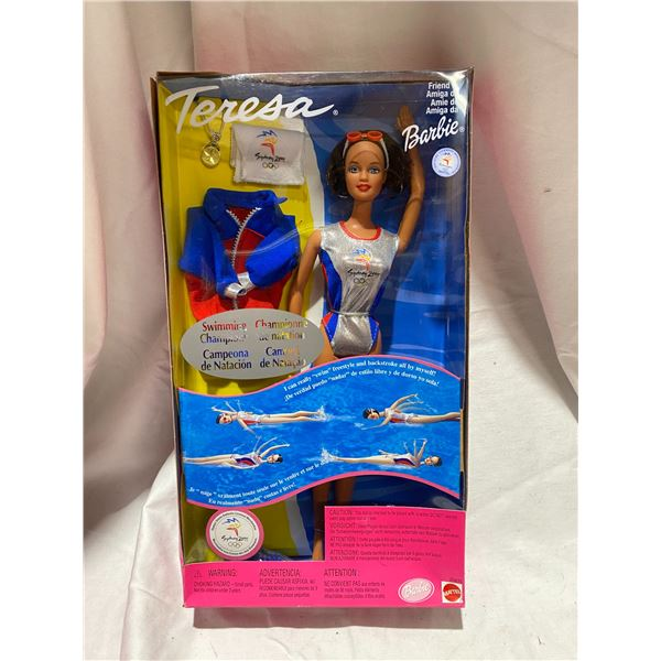 Swimming champion Teresa Barbie