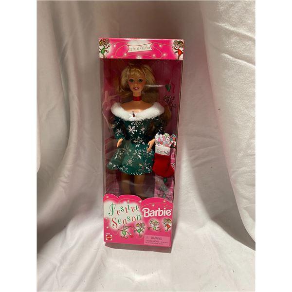 Festive season Barbie
