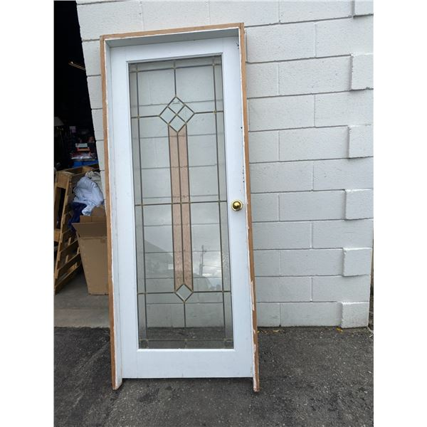 Door frame is 34 inches x 82 inches