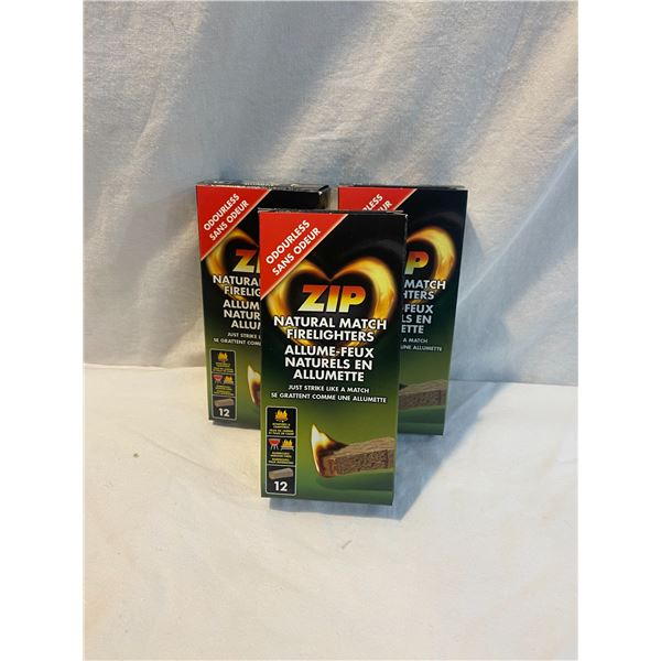 Zip Natural match firelighters