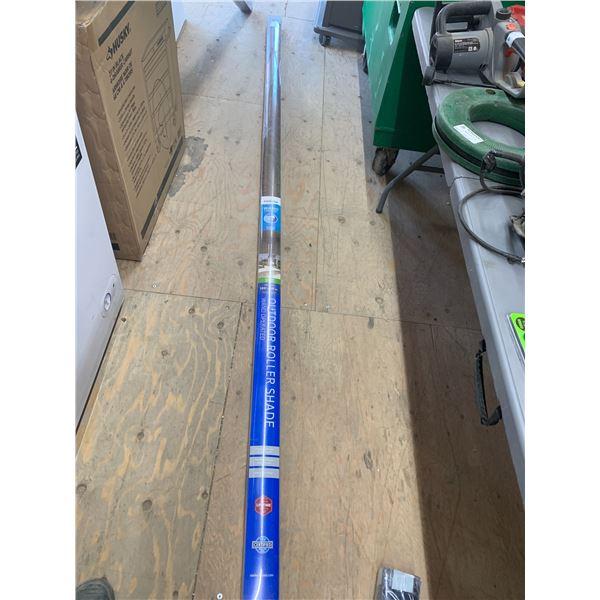 COOLAROO OUTDOOR ROLLER SHADE 120 X 96 WALNUT