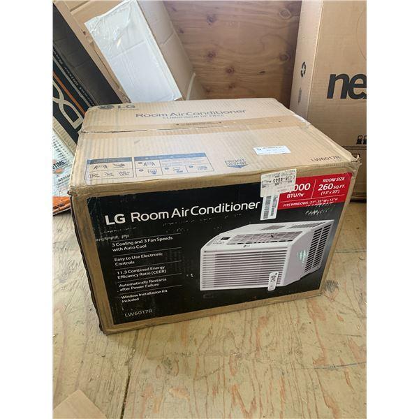 LG LW6017R 260 SQ FT ROOM AC UNIT