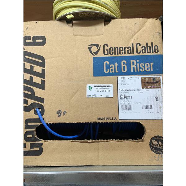 GENERAL CABLE CAT 6 RISER FULL BOX