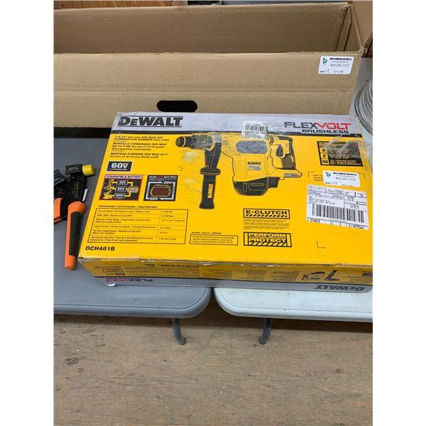 NEW DEWALT DCH481B SDS MAX 60V DRILL TOOL ONLY