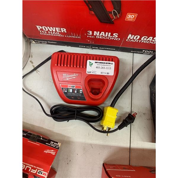 NEW MILWAUKEE M12 CHARGER