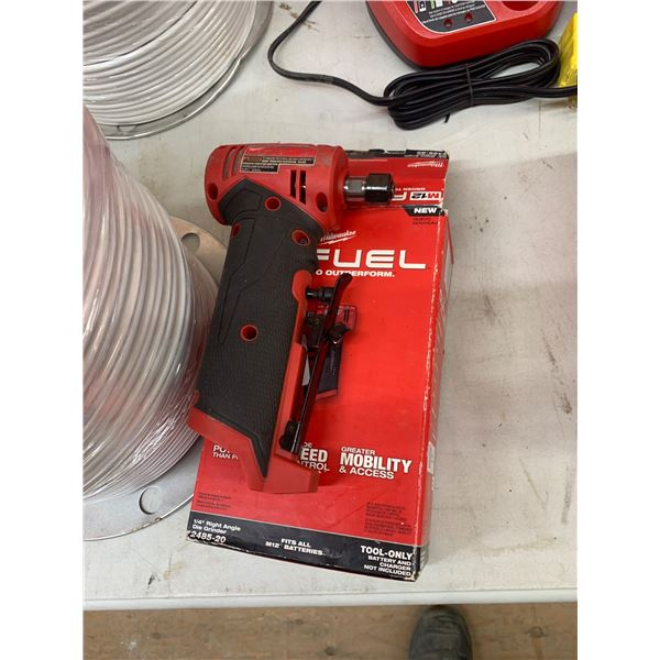 NEW MILWAUKEE M12 FUEL ANGLE DIE GRINDER 2485-20 TOOL ONLY